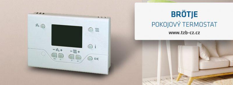 pokojový termostat