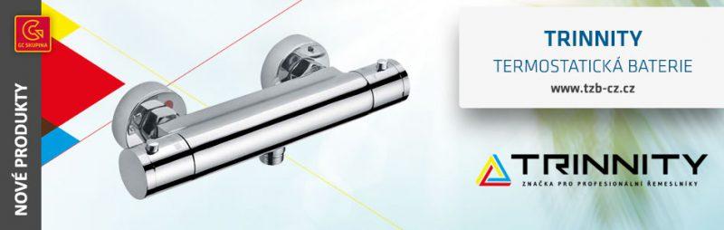 trinnity baterie sprchová termostatická