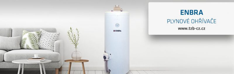ENBRA plynový ohřívač