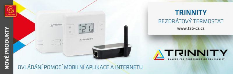 bezdrátový termostat Trinnity