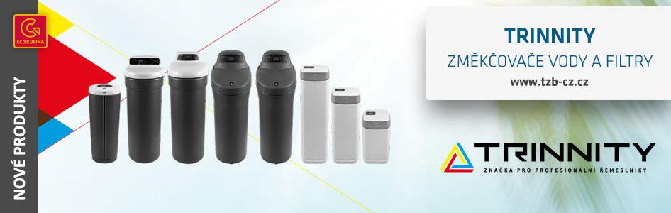 Změkčovače vody a filtry TRINNITY