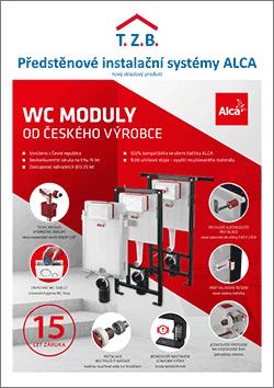 Předstěnové instalační systémy ALCA