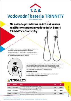 Vodovodní baterie TRINNITY